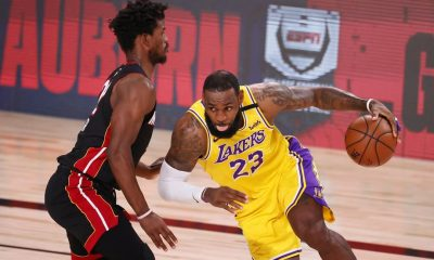 Heat Tundukkan Lakers di Gim Kelima, Jimmy Butler Triple Double