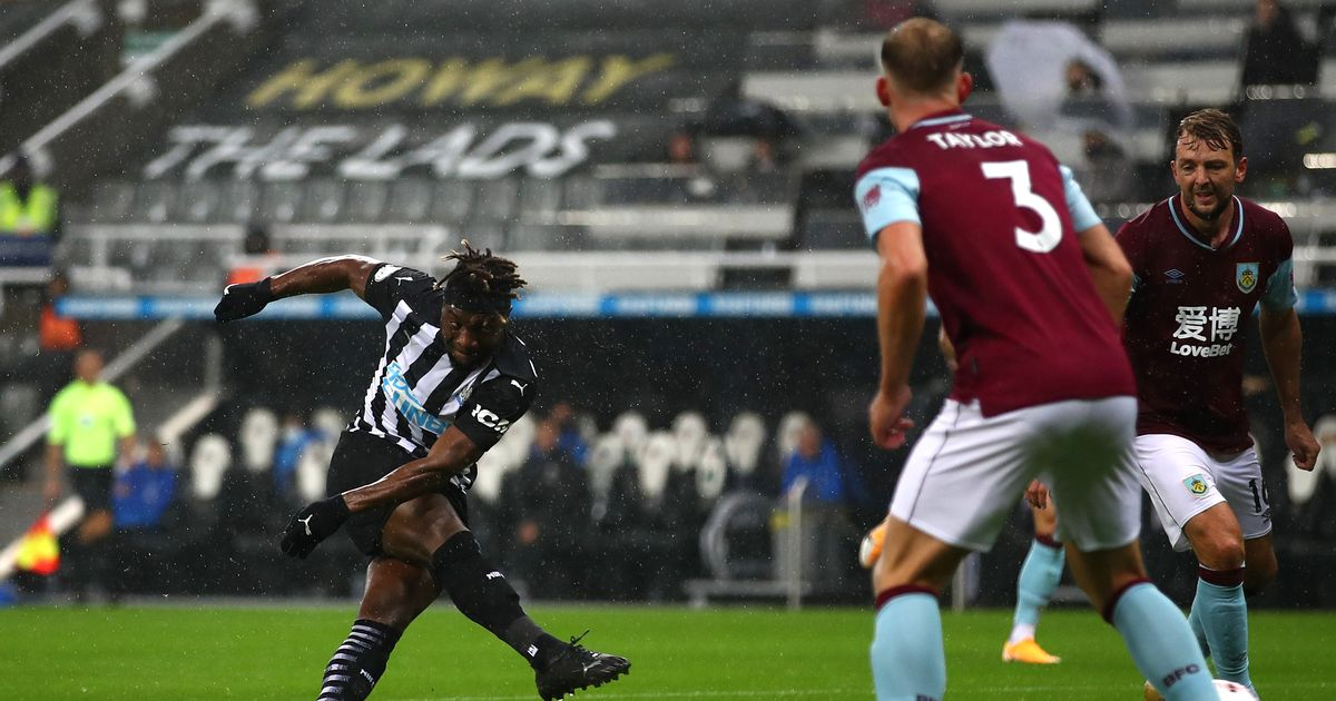 Newcastle United Vs Burnley 04/10/2020
