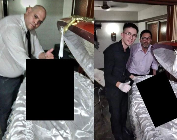 3 Petugas Pemakaman Dikecam Usai Berfoto Dengan Jenazah Maradona