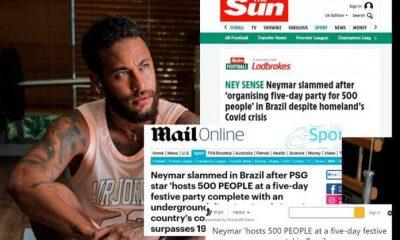 Gara-gara Neymarpalooza, Neymar Dikecam