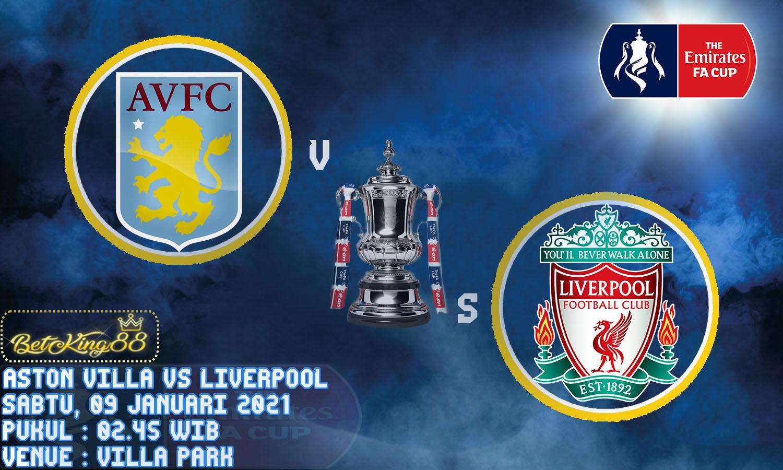 Prediksi Pertandingan FA Cup Musim 2020/21 Antara Aston ...