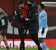 Karena Blunder Alisson, Liverpool Remuk di Tangan Manchester City